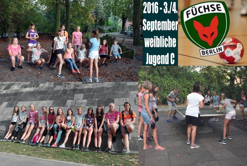 Kleindienst Berlin weibliche jugend c beim sparkassen cup in berlin